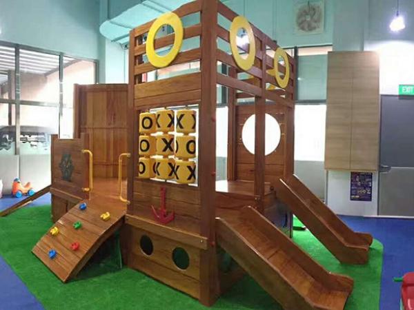 【国外】新加坡木质海盗船