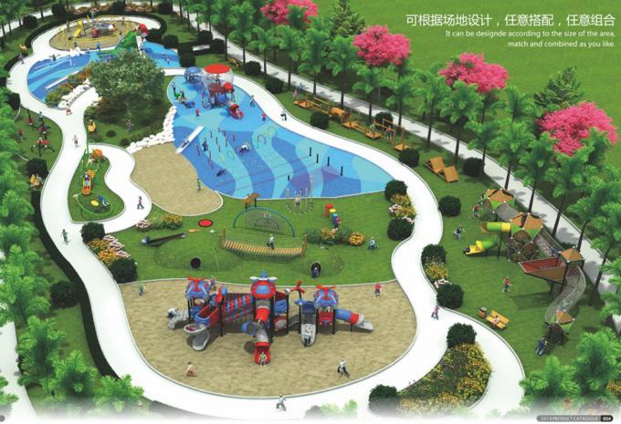 定制型大型组合游乐设备、儿童游乐场设备-1900301