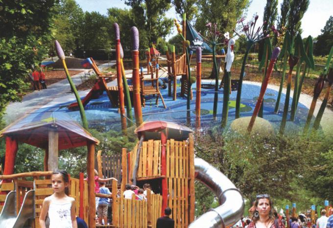 定制型 大型儿童游乐设施 - 1901901