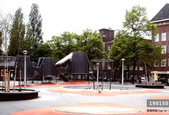 定制型 大型儿童游乐场设施 - 1901501