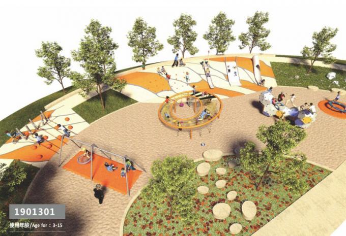 定制型 大型儿童游乐场设施 - 1901301