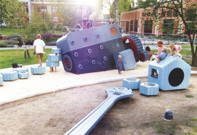 定制型 发动机款 儿童游乐场设备- 1900901