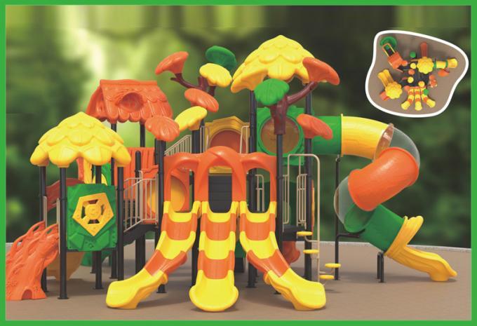 丛林滑梯系列大型组合滑梯儿童游乐场设备-1915101