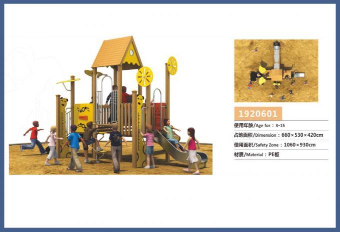 PE板组合滑梯系列大型儿童游乐场设备-1920601