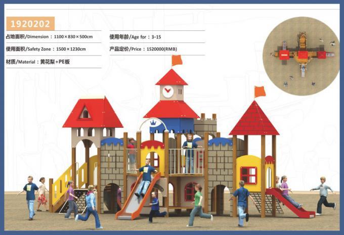 PE板组合滑梯系列大型儿童游乐场设备-1920202