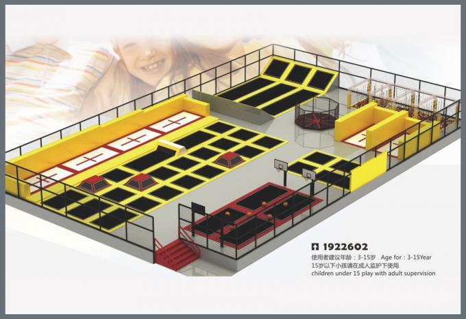 蹦床系列大型儿童游乐场设备-1922602