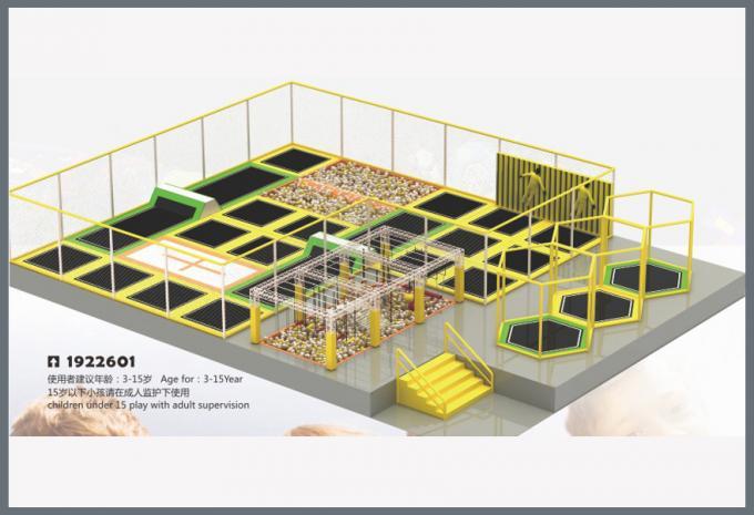 蹦床系列大型儿童游乐场设备-1922601