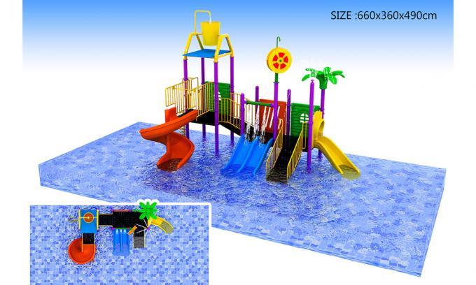 水上中小型滑梯