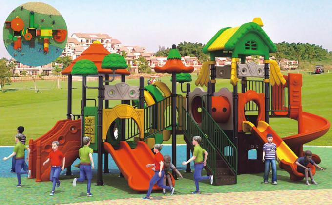 田园森林系列儿童室外大型滑梯