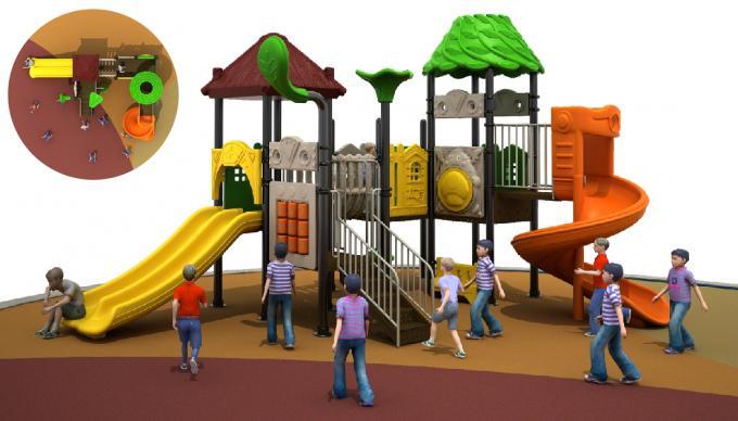 森林主题田园系列儿童滑梯