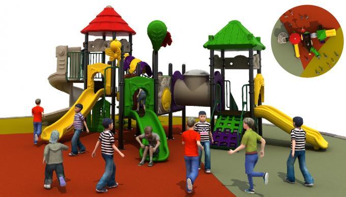 绿植主题田园系列儿童室外滑梯