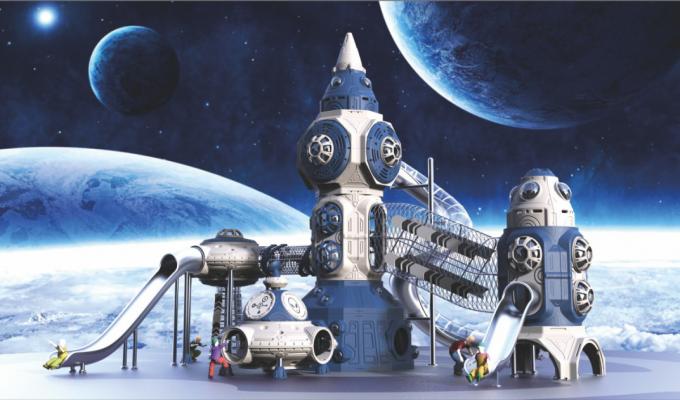 太空飞碟儿童滑梯