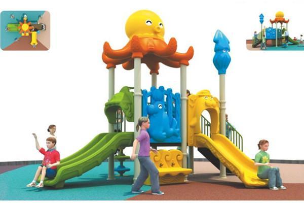 小章鱼组合滑梯